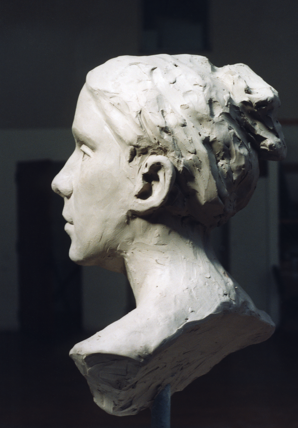 Bust of a Studio Model