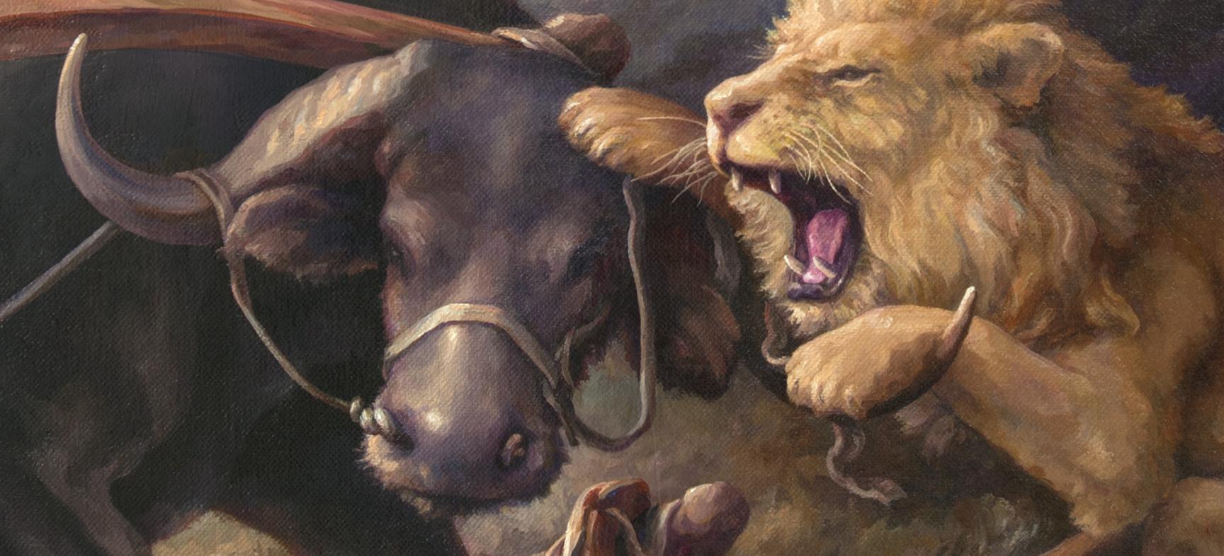 Confronting the Lions, details