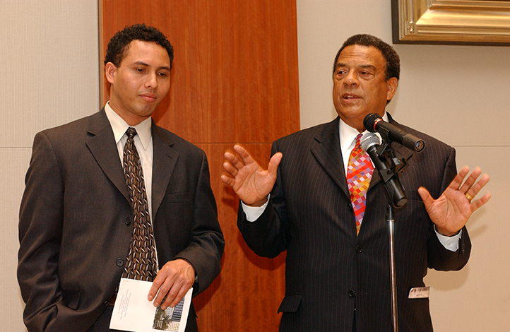 Machyar Kumbang and Andrew Young