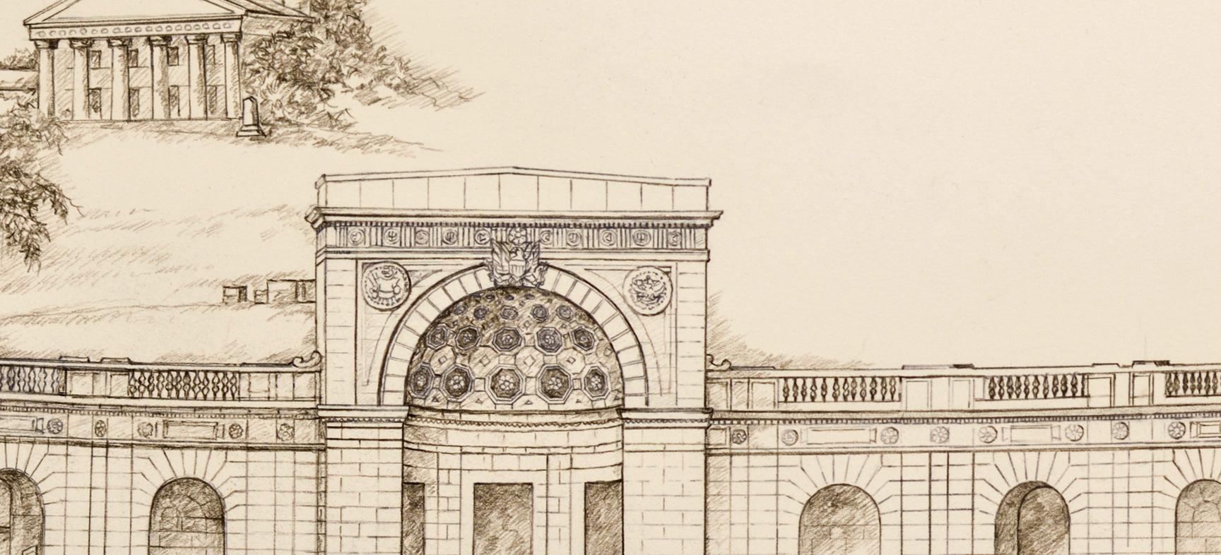 Women Memorial, detail