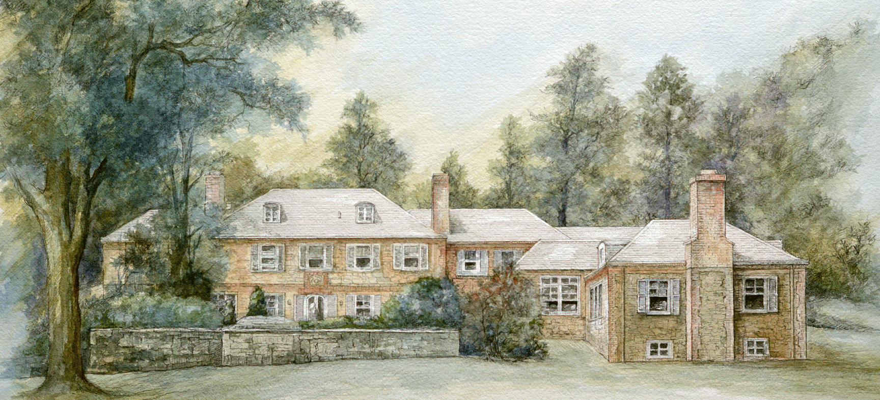 RENDERING OF A HOME